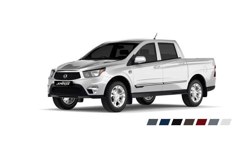 Пикап SsangYong Actyon Sports