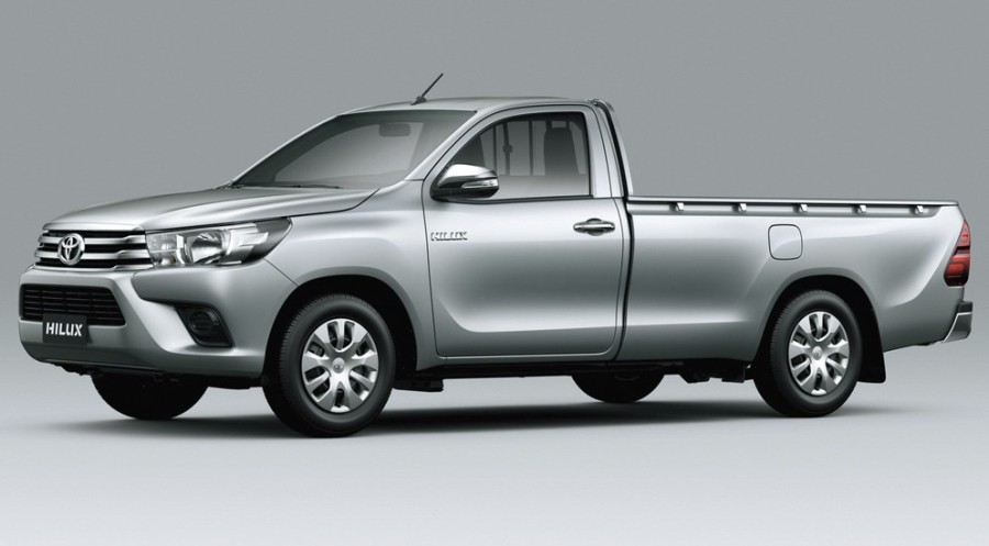 Toyota Hilux Single cab. Рис 2