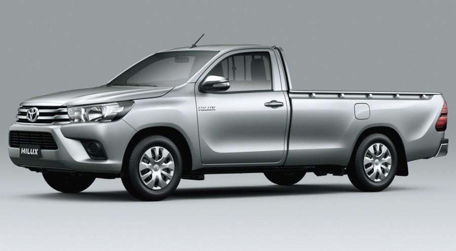 Toyota Hilux Single cab. Рис 2