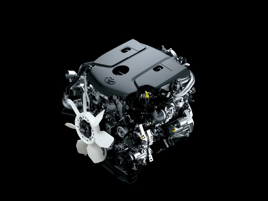 двигатель Toyota HiLux 2016