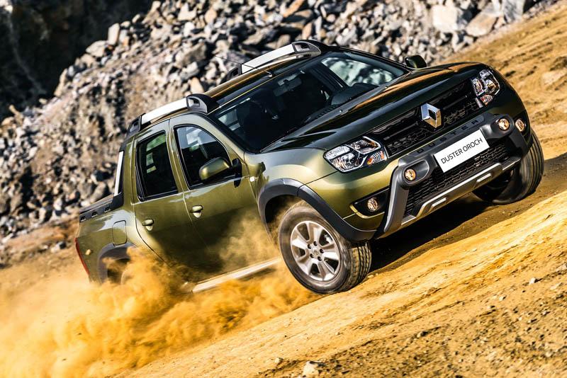 пикап Renault Duster Oroch