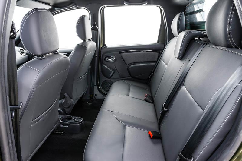 задние кресла в Renault Duster Oroch